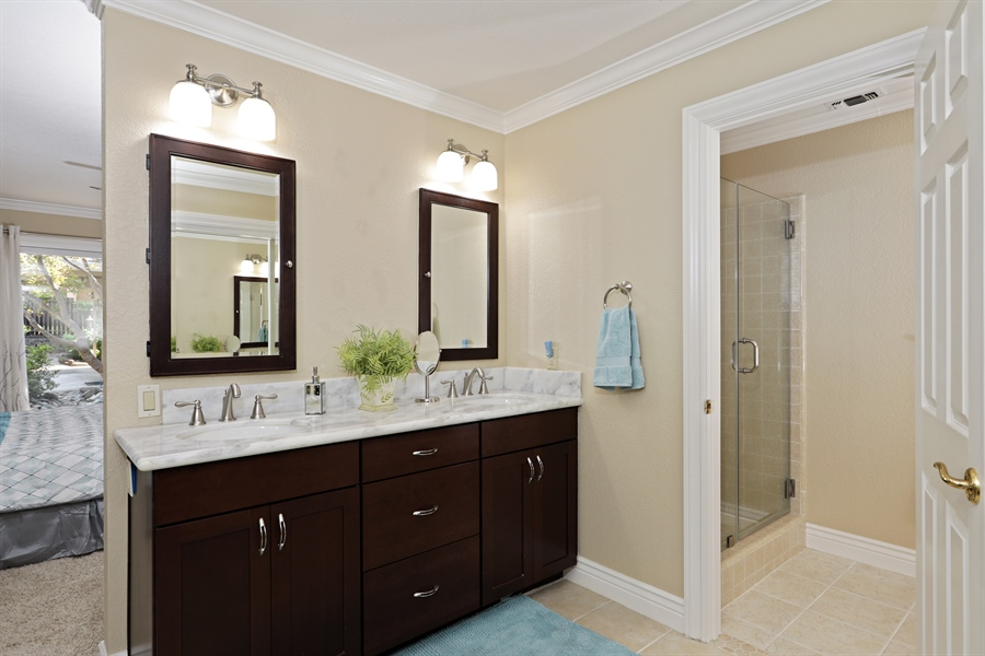 Real Estate Photography - 6035 MacDuff Dr, Granite Bay, CA, 95746 - Master Bathroom