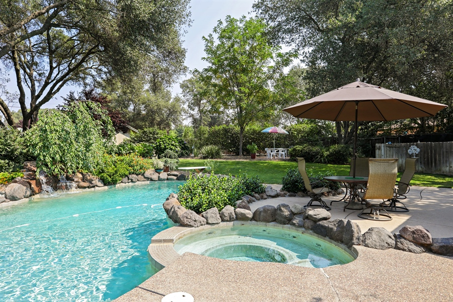 Real Estate Photography - 6035 MacDuff Dr, Granite Bay, CA, 95746 - Spa