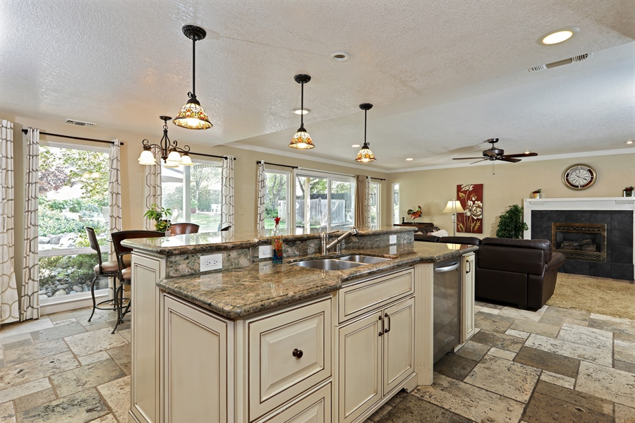 Real Estate Photography - 6035 MacDuff Dr, Granite Bay, CA, 95746 - Kitchen