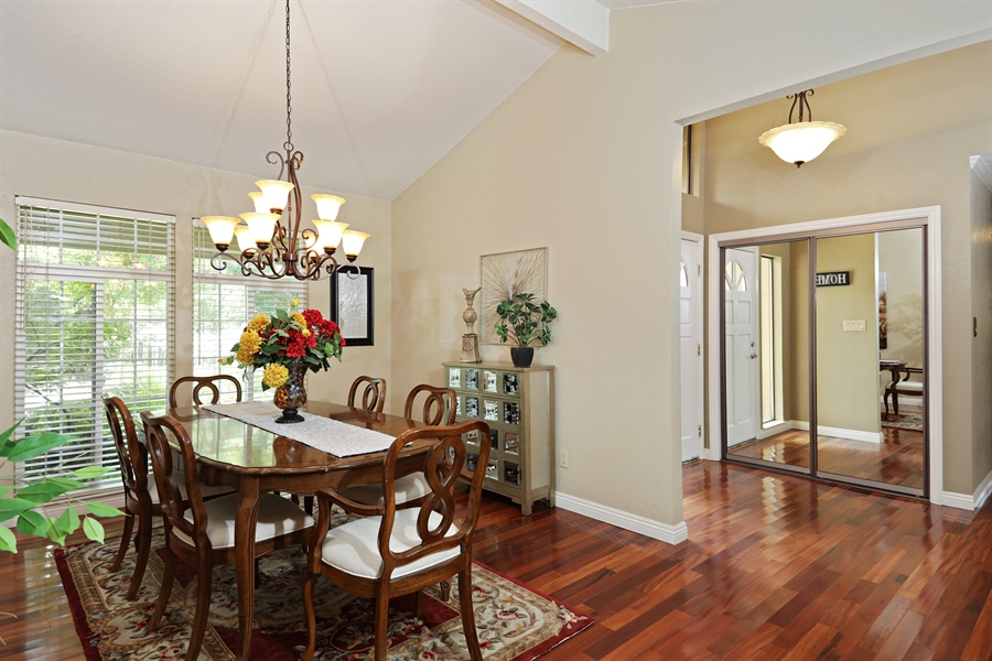 Real Estate Photography - 6035 MacDuff Dr, Granite Bay, CA, 95746 - Dining Room