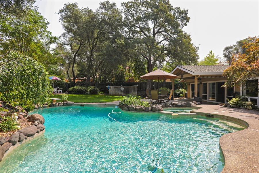 Real Estate Photography - 6035 MacDuff Dr, Granite Bay, CA, 95746 - Pool