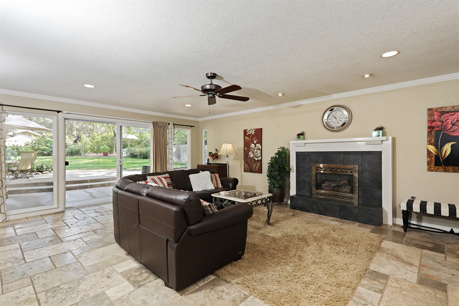 Real Estate Photography - 6035 MacDuff Dr, Granite Bay, CA, 95746 - Family Room