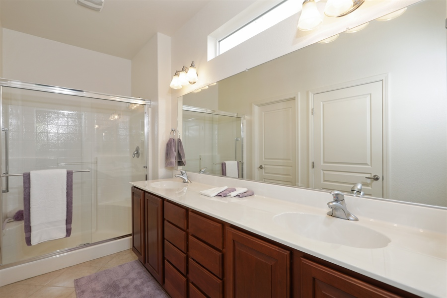 Real Estate Photography - 1203 Freschi Ln, Lincoln, CA, 95648 - Master Bathroom