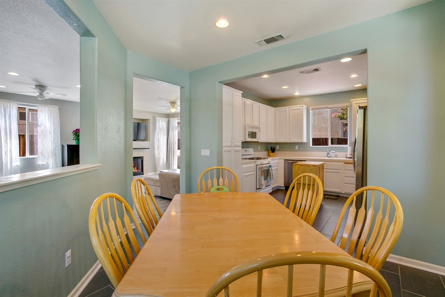 Real Estate Photography - 390 Dragonfly, Sacramento, CA, 95834 - Kitchen / Dining Room