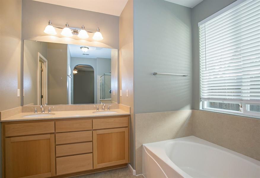 Real Estate Photography - 2536 Greg Jarvis Ave, Sacramento, CA, 95834 - Master Bathroom