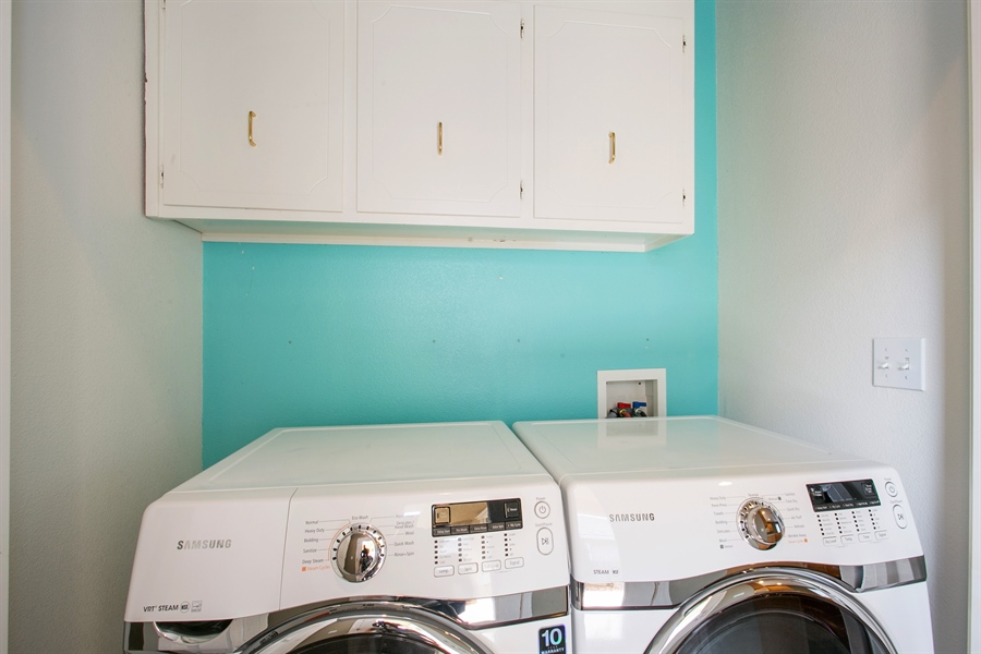 Real Estate Photography - 2536 Greg Jarvis Ave, Sacramento, CA, 95834 - Laundry Room