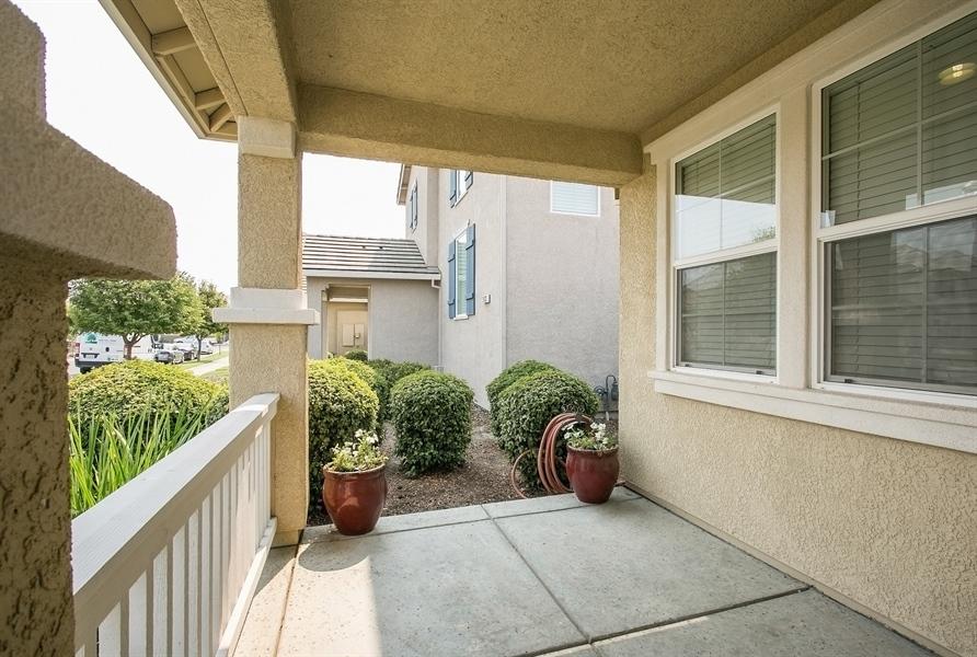 Real Estate Photography - 2536 Greg Jarvis Ave, Sacramento, CA, 95834 - Porch
