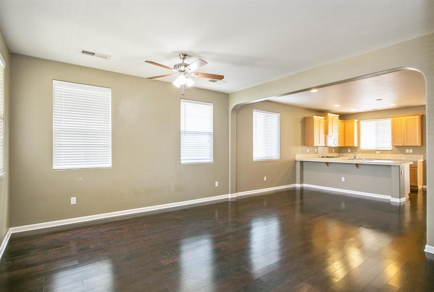 Real Estate Photography - 2536 Greg Jarvis Ave, Sacramento, CA, 95834 - Kitchen/Living