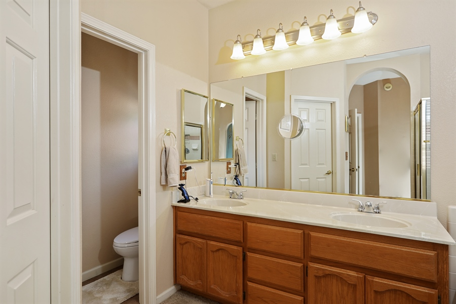 Real Estate Photography - 109 Harcourt, Folsom, CA, 95630 - Master Bathroom
