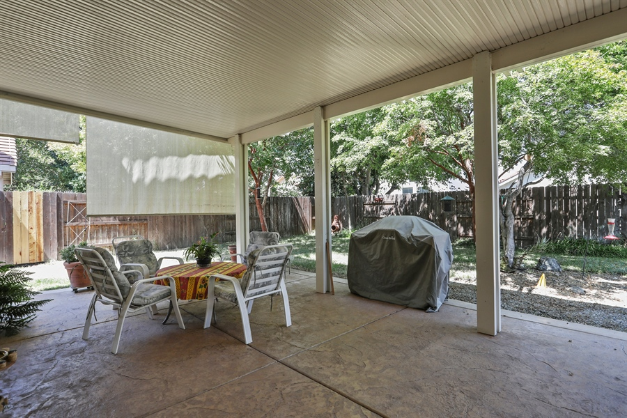 Real Estate Photography - 109 Harcourt, Folsom, CA, 95630 - Patio