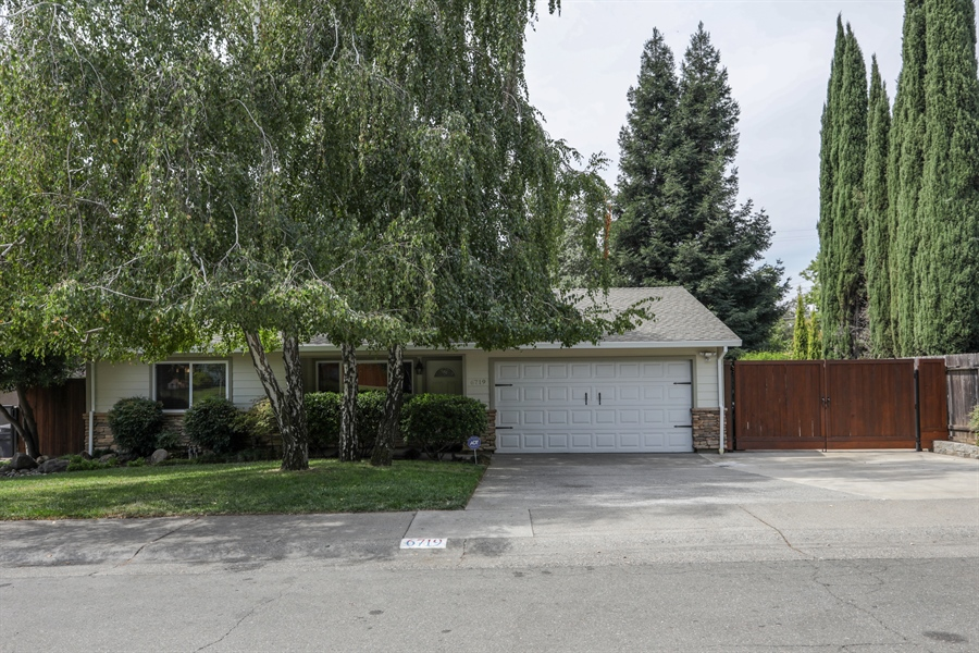 Real Estate Photography - 6719 Deerfield Drive, Citrus Heights, CA, 95610 - Front View