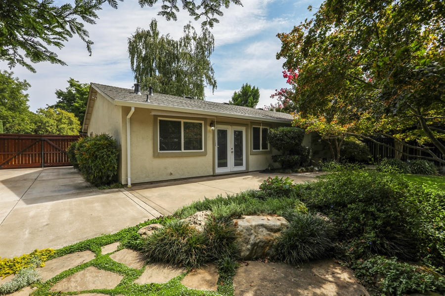 Real Estate Photography - 6719 Deerfield Drive, Citrus Heights, CA, 95610 - Rear View