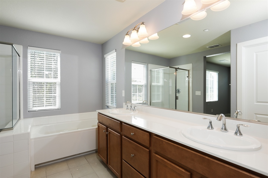 Real Estate Photography - 190 Candela Circle, Sacramento, CA, 95835 - Master Bathroom