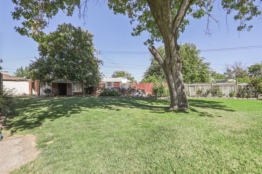 Real Estate Photography - 5724 Tell Ct., North Highlands, CA, 95660 - Back Yard