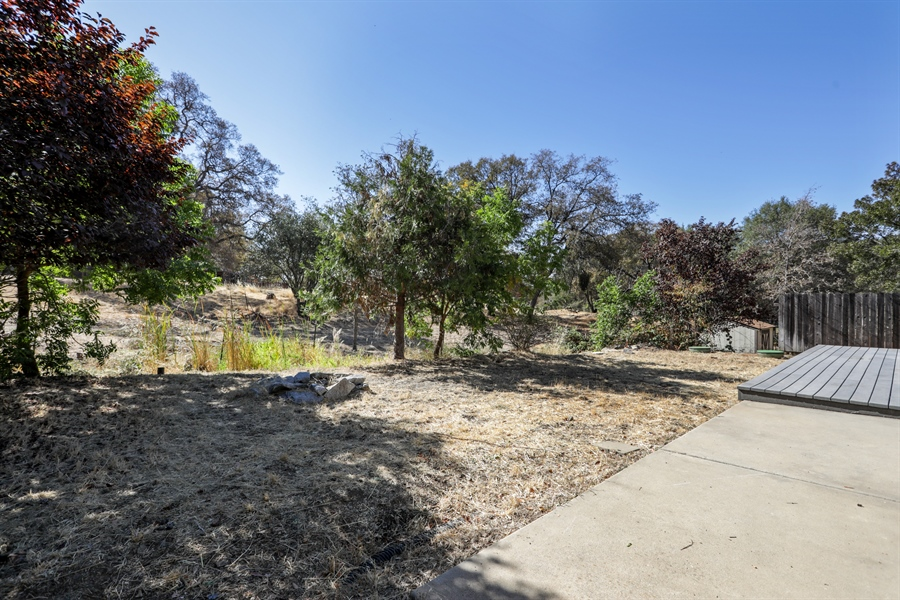 Real Estate Photography - 1638 American River Trail, Cool, CA, 95614 - Back Yard