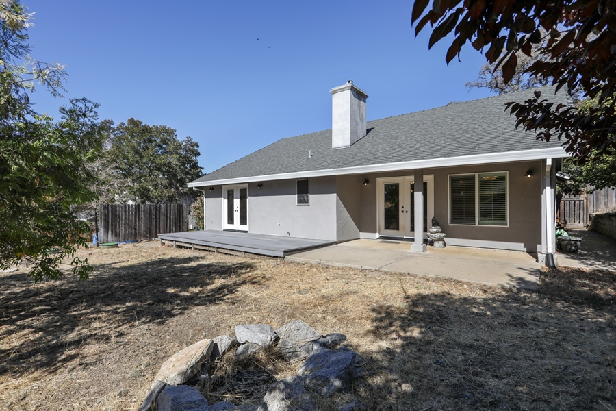 Real Estate Photography - 1638 American River Trail, Cool, CA, 95614 - Rear View