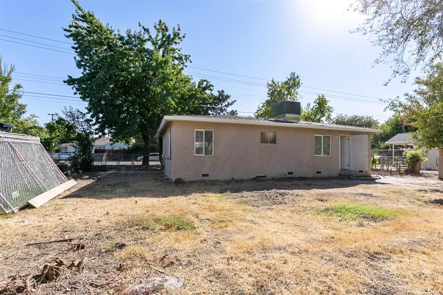 Real Estate Photography - 4055 23rd Ave, Sacramento, CA, 95820 - Back Yard