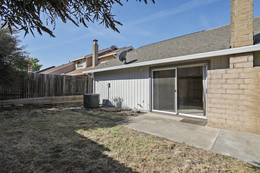 Real Estate Photography - 1169 Meadow Gate Dr, Roseville, CA, 95661 - Rear View