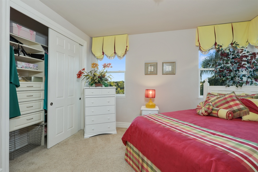 Real Estate Photography - 4420 Longview Dr, Rocklin, CA, 95677 - 3rd Bedroom With Custom Designed Windows/Bedding