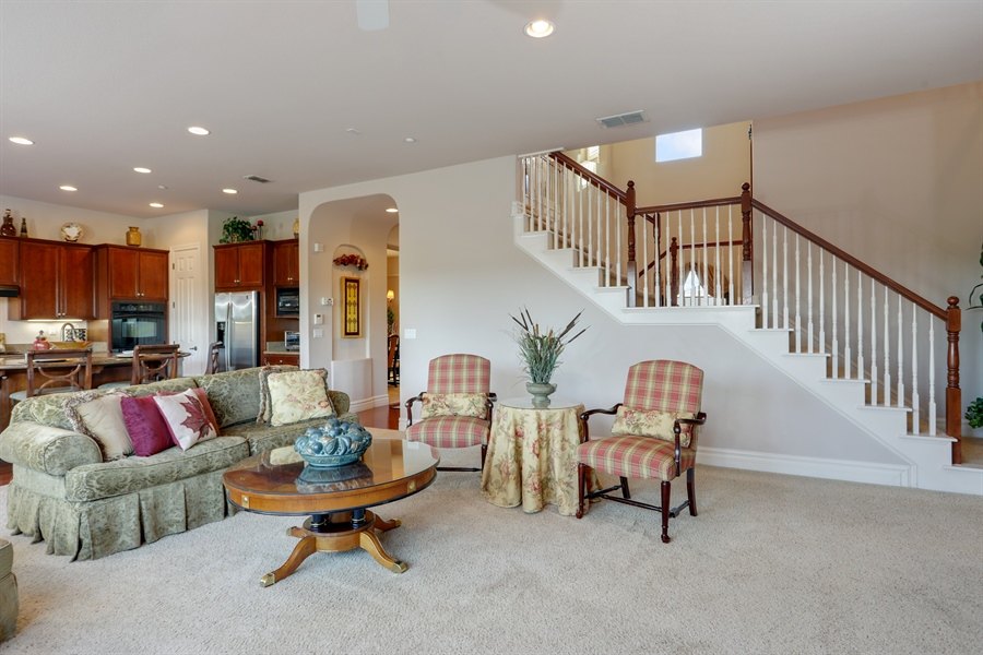 Real Estate Photography - 4420 Longview Dr, Rocklin, CA, 95677 - Family Room