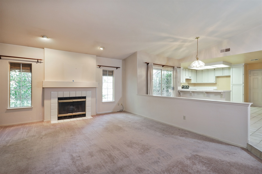Real Estate Photography - 9417 Forest Vista Way, Elk Grove, CA, 95758 - Living Room