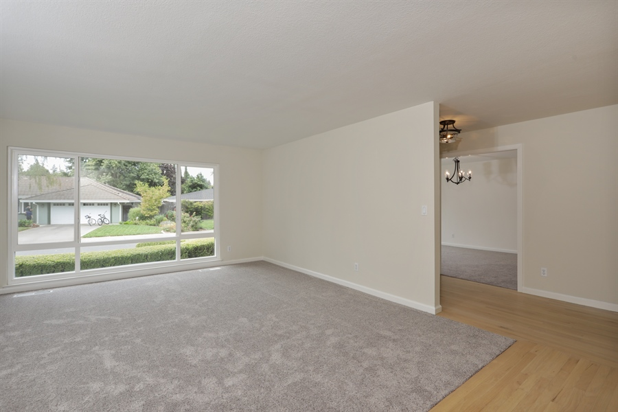 Real Estate Photography - 4919 Marlborough Way, Carmichael, CA, 95608 - Living Room