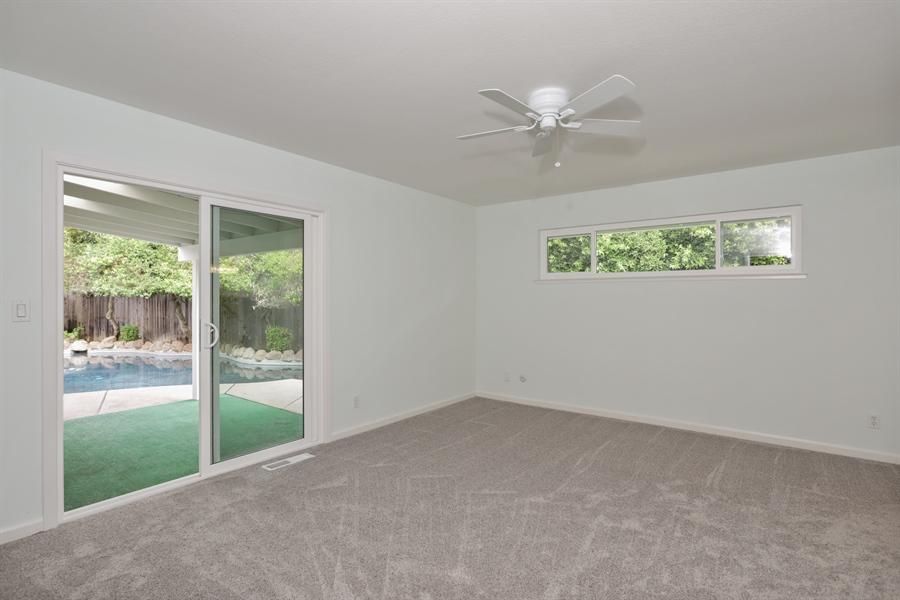 Real Estate Photography - 4919 Marlborough Way, Carmichael, CA, 95608 - Master Bedroom
