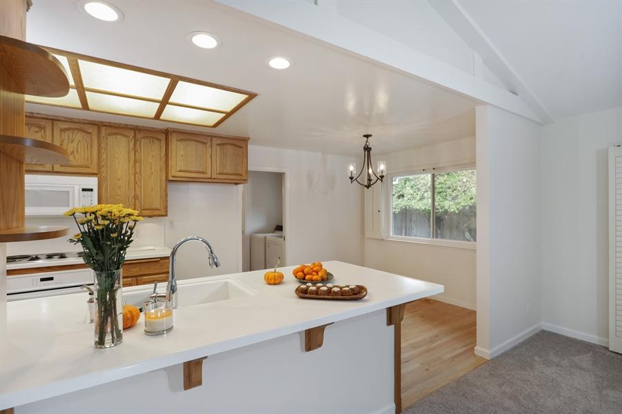 Real Estate Photography - 4919 Marlborough Way, Carmichael, CA, 95608 - Kitchen / Breakfast Room