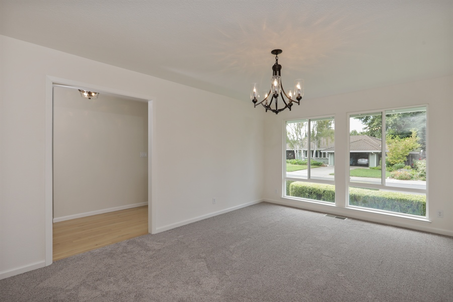 Real Estate Photography - 4919 Marlborough Way, Carmichael, CA, 95608 - Dining Room