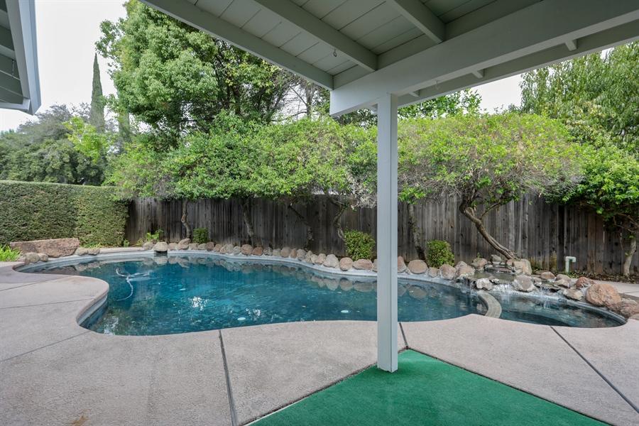 Real Estate Photography - 4919 Marlborough Way, Carmichael, CA, 95608 - Back Yard