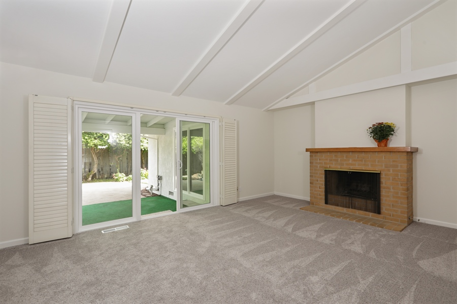 Real Estate Photography - 4919 Marlborough Way, Carmichael, CA, 95608 - Family Room