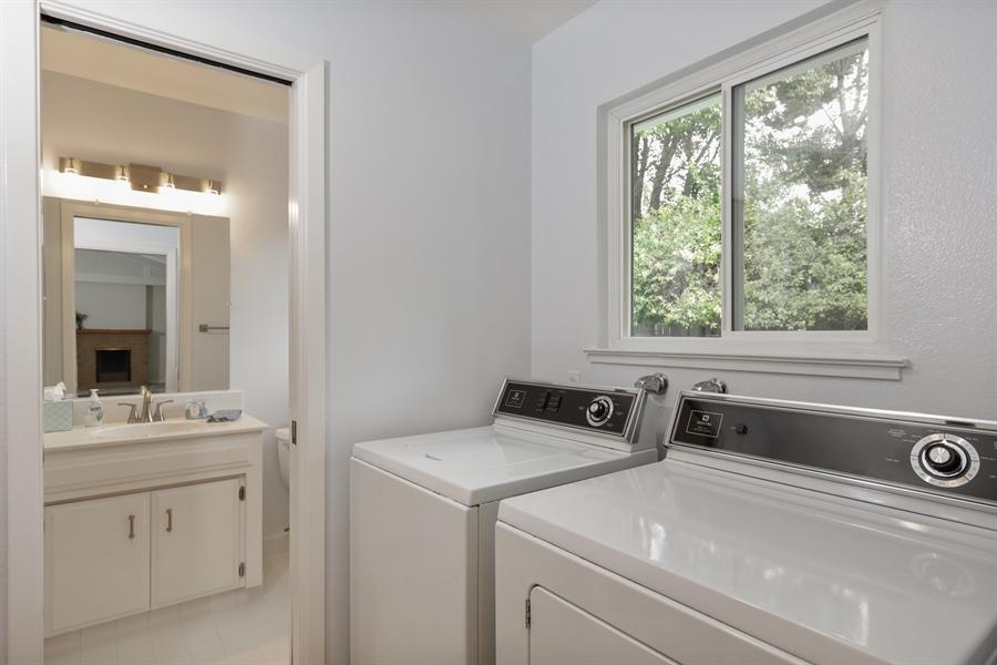 Real Estate Photography - 4919 Marlborough Way, Carmichael, CA, 95608 - Laundry Room