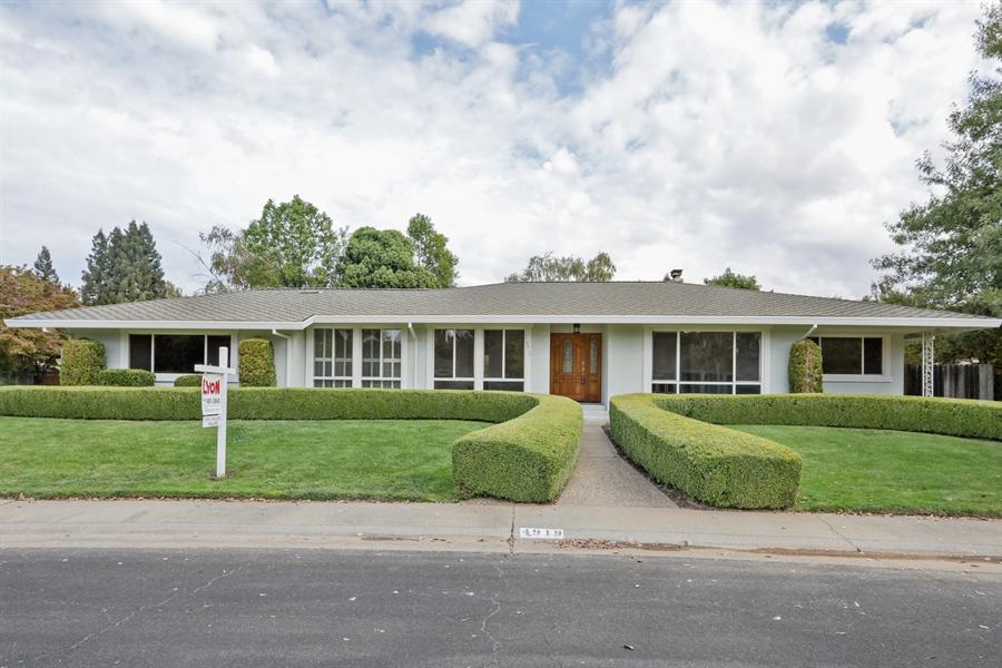 Real Estate Photography - 4919 Marlborough Way, Carmichael, CA, 95608 - Front View