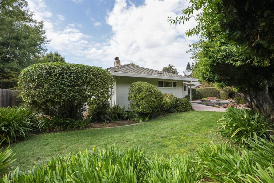 Real Estate Photography - 4919 Marlborough Way, Carmichael, CA, 95608 - Rear View