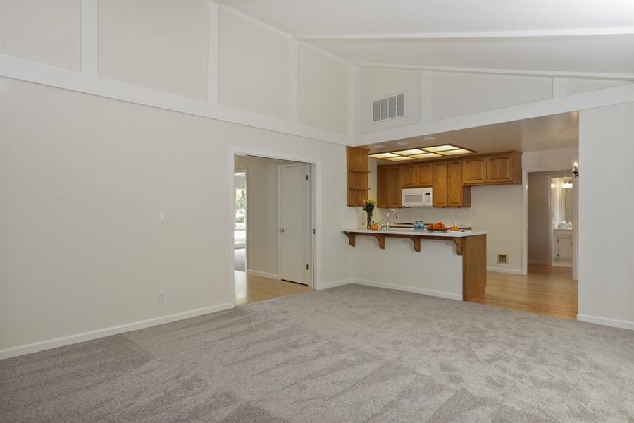 Real Estate Photography - 4919 Marlborough Way, Carmichael, CA, 95608 - Family Room / Kitchen