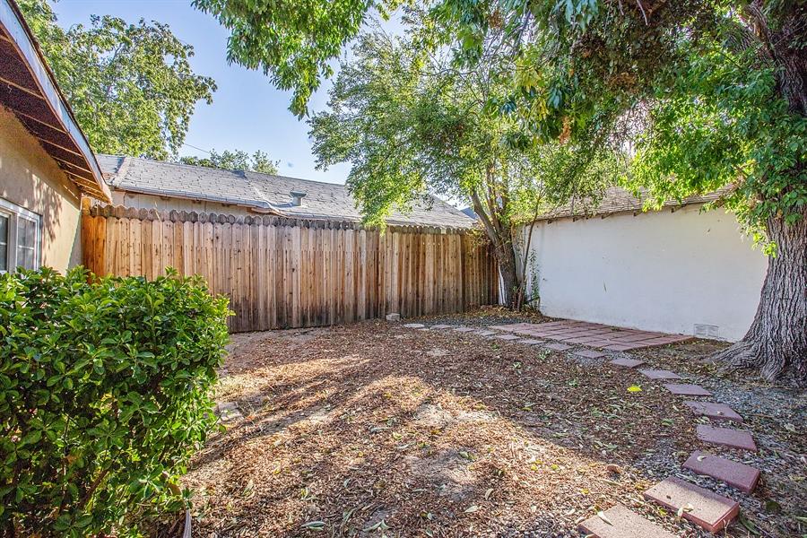 Real Estate Photography - 4416 8th Ave, Sacramento, CA, 95820 - Back Yard