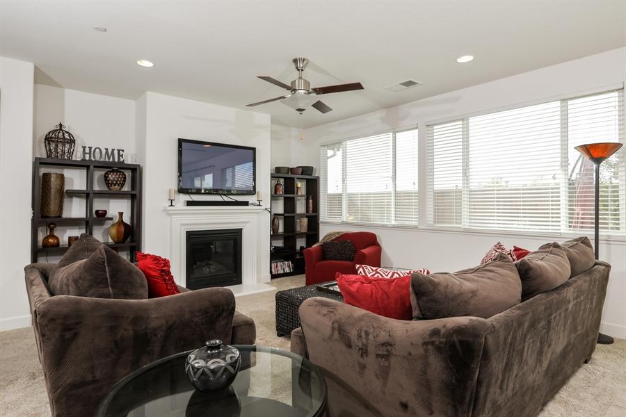 Real Estate Photography - 5616 Saratoga Circle, Rocklin, CA, 95765 - Living Room