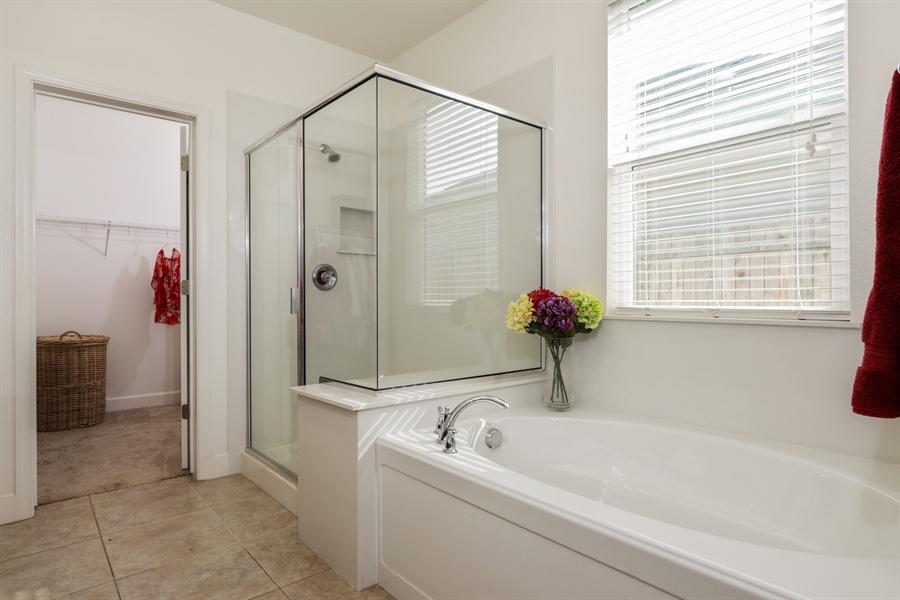 Real Estate Photography - 5616 Saratoga Circle, Rocklin, CA, 95765 - Master Bathroom