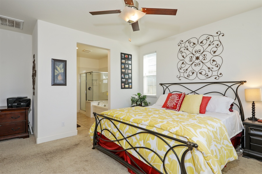 Real Estate Photography - 5616 Saratoga Circle, Rocklin, CA, 95765 - Master Bedroom