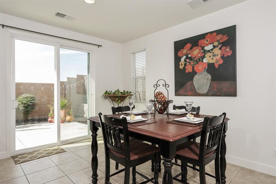 Real Estate Photography - 5616 Saratoga Circle, Rocklin, CA, 95765 - Dining Room