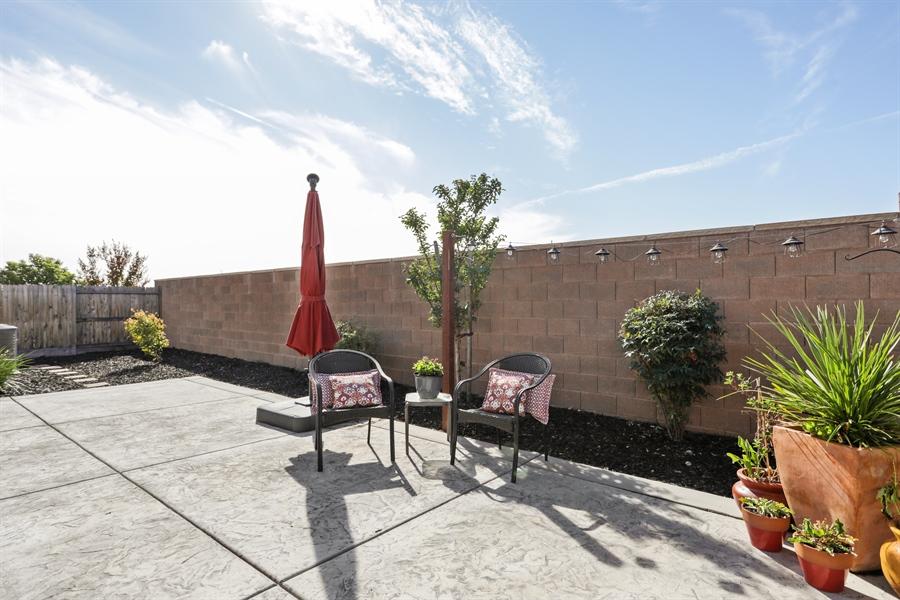 Real Estate Photography - 5616 Saratoga Circle, Rocklin, CA, 95765 - Back Yard