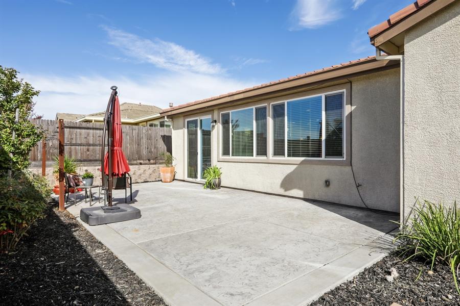 Real Estate Photography - 5616 Saratoga Circle, Rocklin, CA, 95765 - Rear View