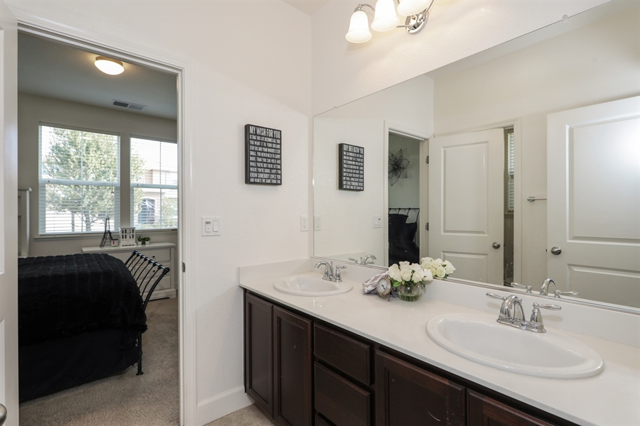 Real Estate Photography - 5616 Saratoga Circle, Rocklin, CA, 95765 - Bathroom