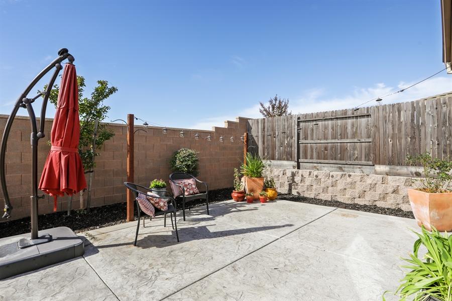 Real Estate Photography - 5616 Saratoga Circle, Rocklin, CA, 95765 - Patio