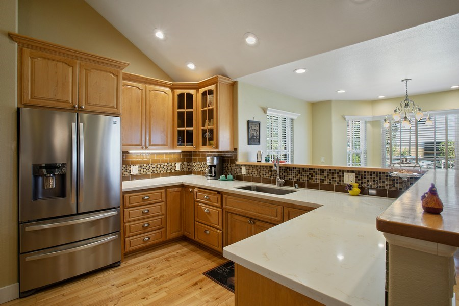 Real Estate Photography - 7961 Charlotte Ln, Vacaville, CA, 95688 - Kitchen