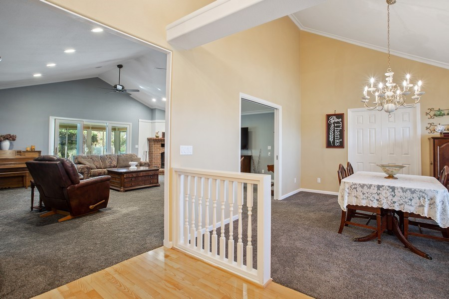 Real Estate Photography - 7961 Charlotte Ln, Vacaville, CA, 95688 - Dining and Living Room