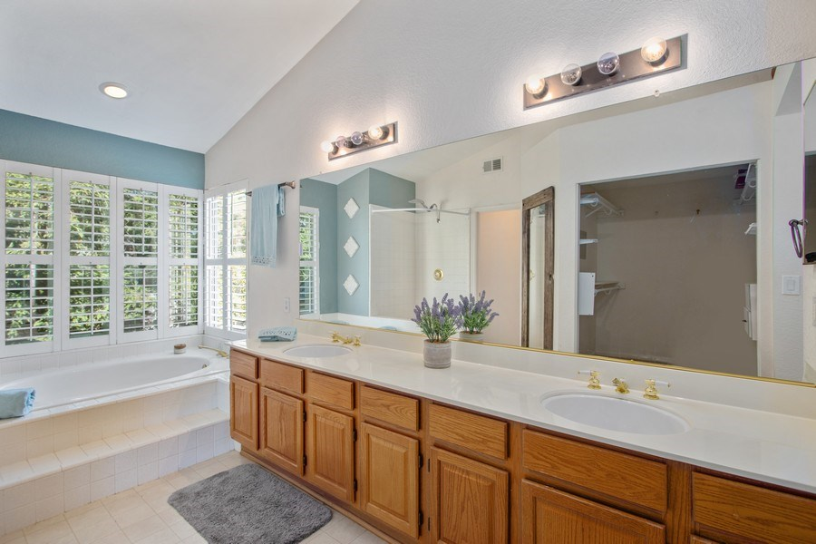Real Estate Photography - 5609 Glen Oaks Drive, Rocklin, CA, 95765 - Master Bathroom