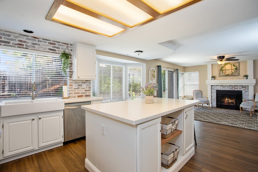 Real Estate Photography - 5609 Glen Oaks Drive, Rocklin, CA, 95765 - Kitchen