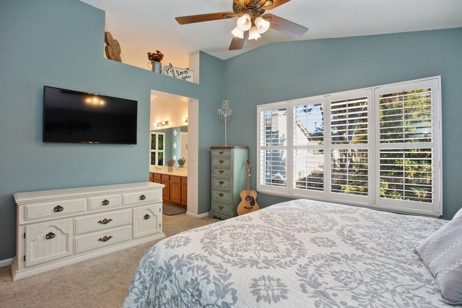 Real Estate Photography - 5609 Glen Oaks Drive, Rocklin, CA, 95765 - Master Bedroom