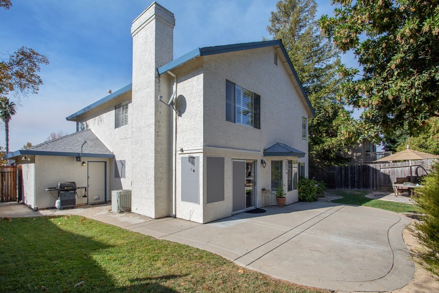 Real Estate Photography - 5609 Glen Oaks Drive, Rocklin, CA, 95765 - Rear View